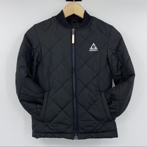 Gerry Black Puffer Jacket (Boys 7-8)